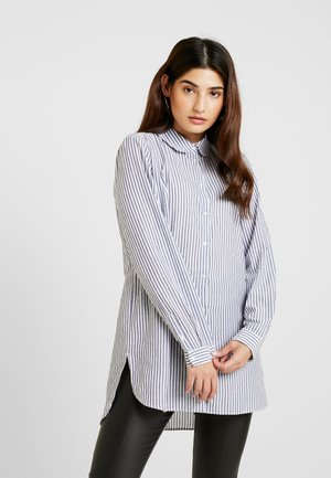 SLFCASSY  LONG - Koszula - vintage indigo/bright white