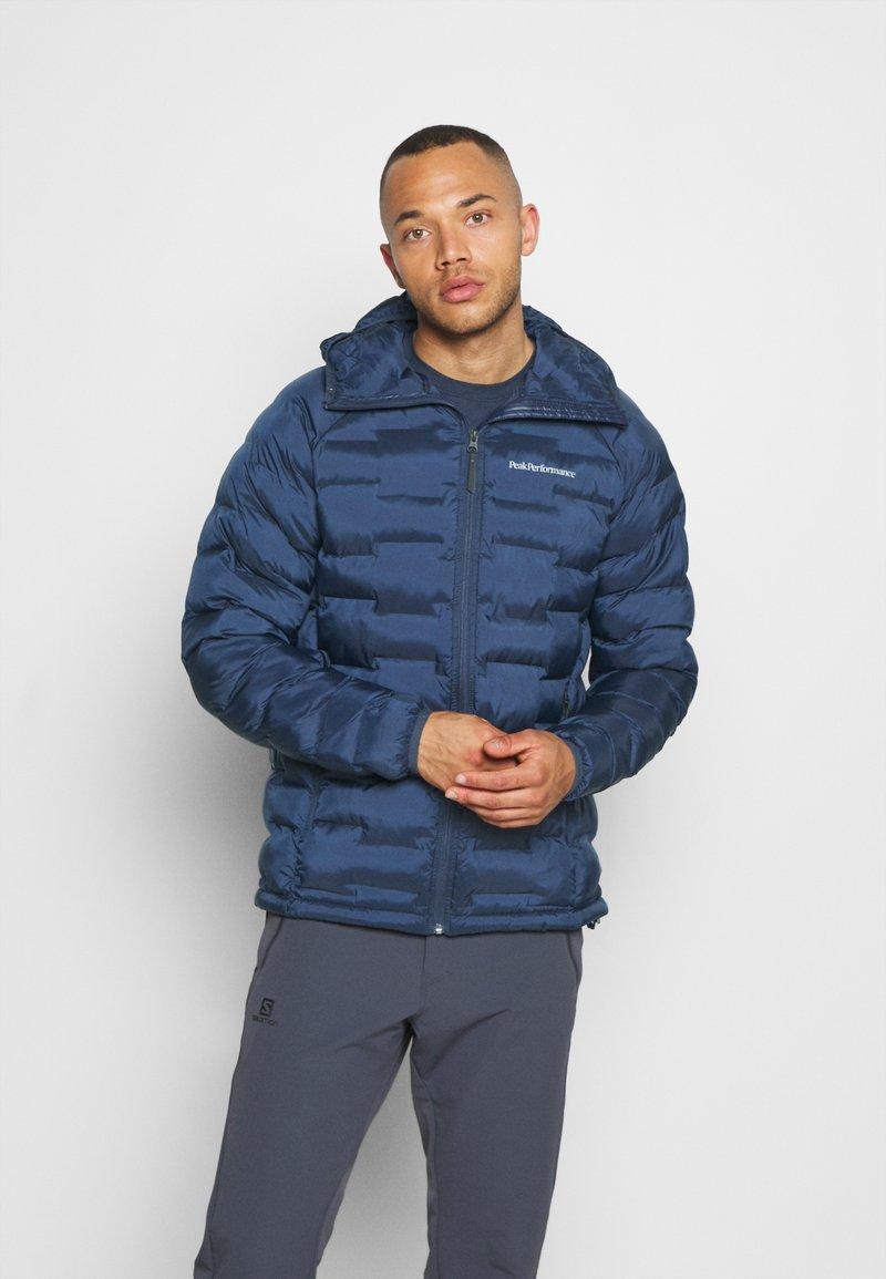 Peak Performance - ARGON HOOD - Winter jacket - blue shadow