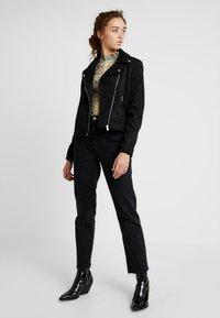 Even&Odd - Faux leather jacket - black - 1