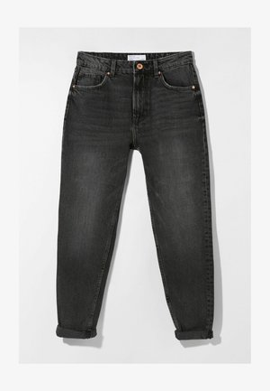 MOM FIT - Relaxed fit jeans - dark grey