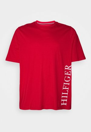 SMALL LOGO TEE - T-shirt con stampa - red