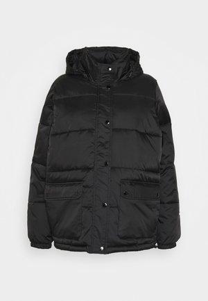 IRVING PUFFY COAT - Light jacket - black
