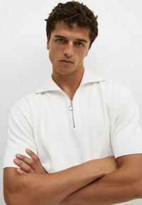 Mango - AZULEJOP - Polo shirt - ivoire - 3