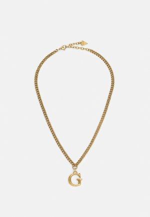 Necklace - antique gold-coloured