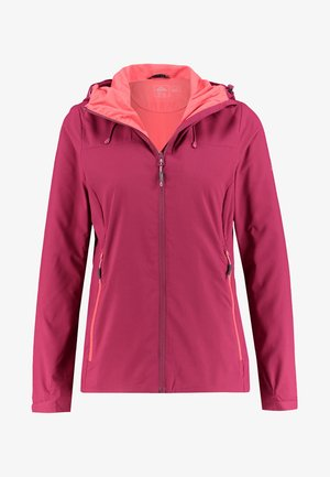 Outdoor jacket - berry