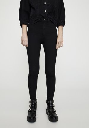 Jeggings - black