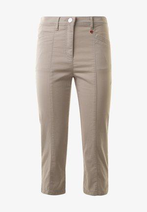 MEINE BESTE FREUNDIN  - Trousers -  greige