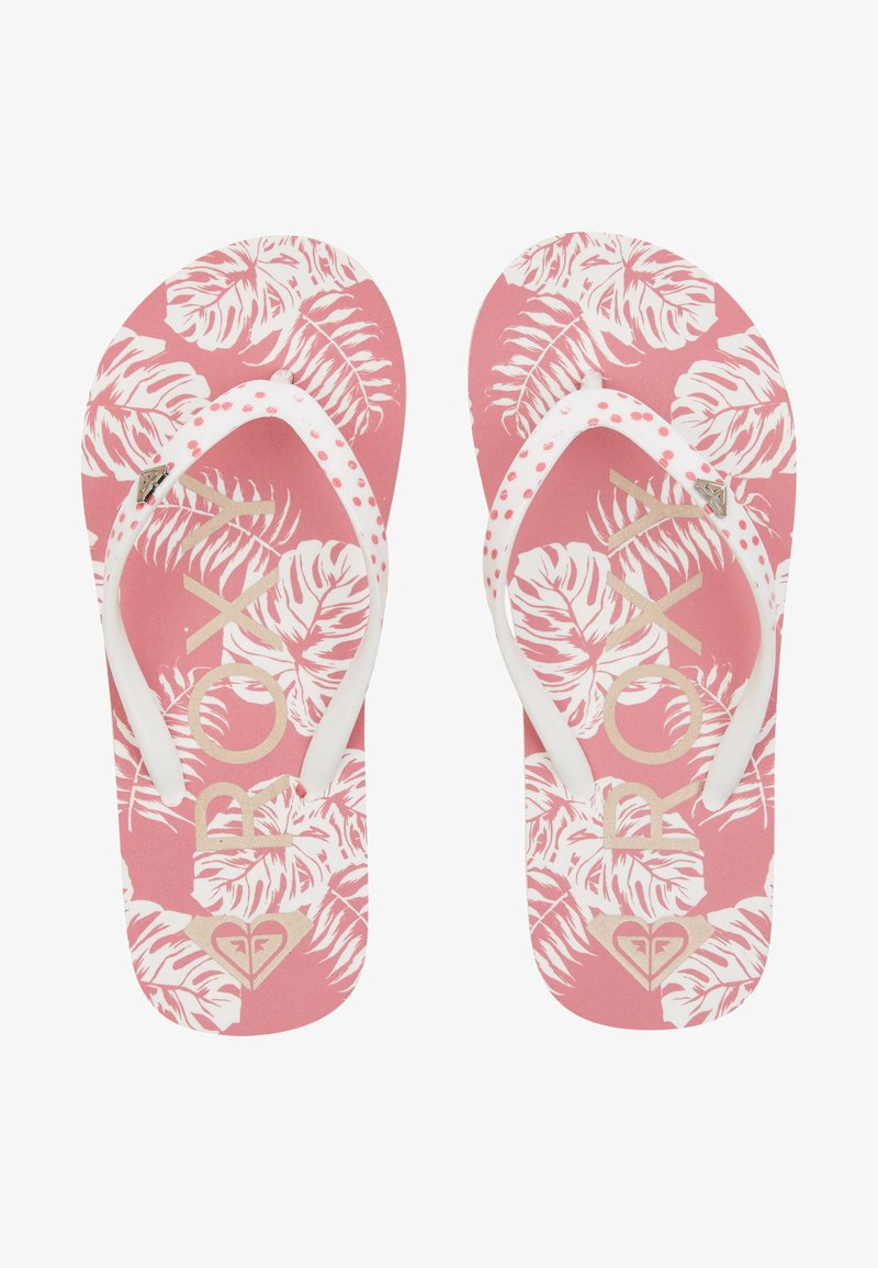 Roxy - PEBBLES  - T-bar sandals - barely pink
