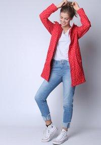 Strange - SARAH  - Short coat - red cherries - 3