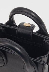 Topshop - MICRO TOTE - Taška spříčným popruhem - black - 3