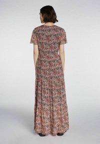 SET - Maxi dress - white red - 2