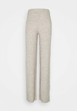 NMSALLY LOOSE PANT TALL - Tygbyxor - chateau gray