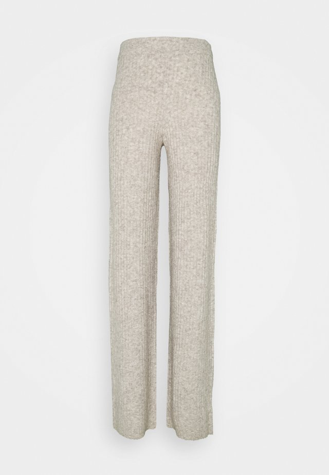 NMSALLY LOOSE PANT TALL - Broek - chateau gray