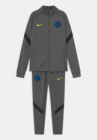 Nike Performance - INTER MAILAND SET UNISEX - Club wear - dark grey/black/tour yellow - 0