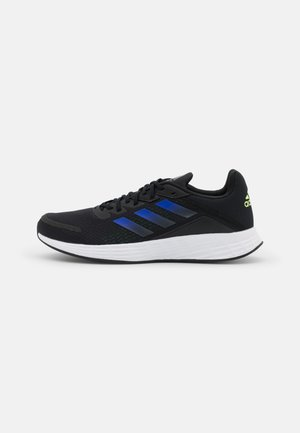 Neutral running shoes - core black/screaming green