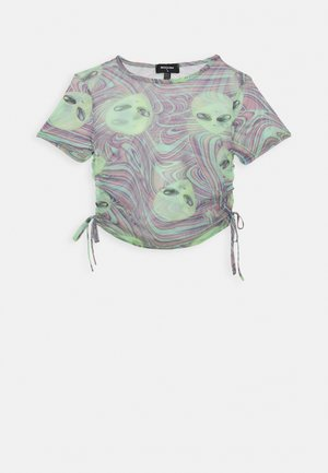 OUT OF THIS WORLD ALIEN - Print T-shirt - multi