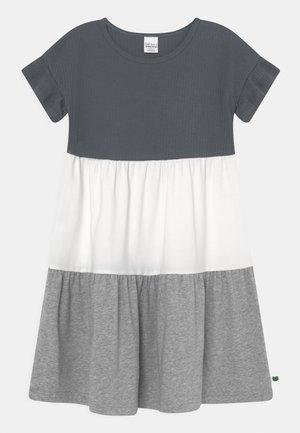 ALFA BLOCK DRESS - Jersey dress - stormy blue