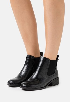 WIDE FIT MORGAN CHELSEA  - Ankle boots - black