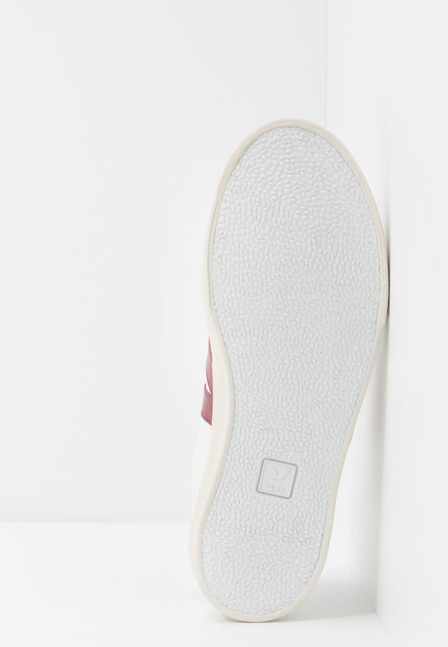 Laatste korting Opruiming Veja ESPLAR LOGO - Sneakers laag - extra-white/marsala/black - VyjGp