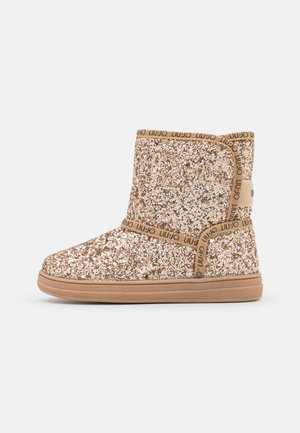 MINI ALICIA BOOTIE - Classic ankle boots - gold