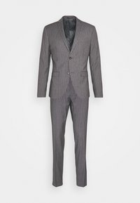 Isaac Dewhirst - BOLD STRIPE SUIT - Traje - grey - 11