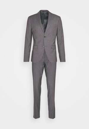 BOLD STRIPE SUIT - Suit - grey