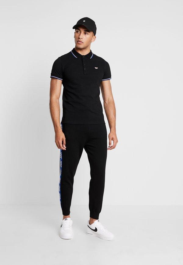 Diesel T-RANDY - Koszulka polo - black/czarny Odzież Męska CZNF