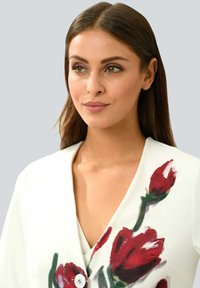 Alba Moda - Short coat - off-white rot - 3
