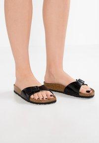 Birkenstock - MADRID - Pantofle - black - 0