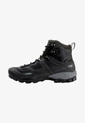 DUCAN HIGH GTX MEN - Hiking shoes - black