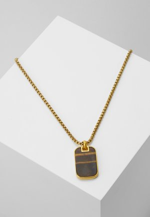 Necklace - gold-coloured/brown