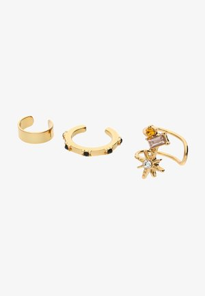 EARCUFF-SET VON DIANA ZUR LÖWEN - Earrings - gold