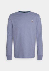 PS Paul Smith - MENS ZEBRA - Top sdlouhým rukávem - blue grey - 0