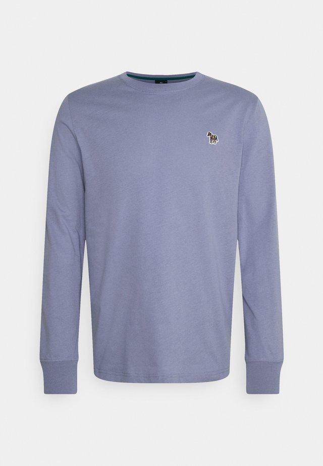 MENS ZEBRA - Long sleeved top - blue grey