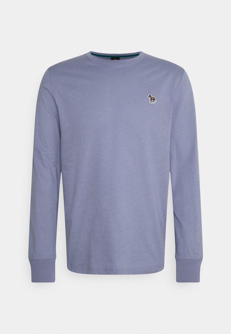 PS Paul Smith - MENS ZEBRA - Top sdlouhým rukávem - blue grey