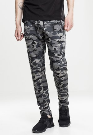 INTERLOCK   - Tracksuit bottoms - dark camo