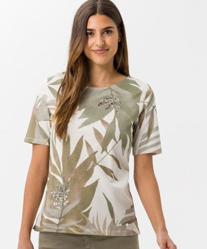 STYLE COLLETTE - Print T-shirt - khaki