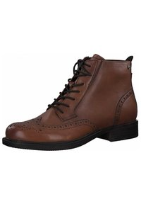 Tamaris - Lace-up ankle boots - brandy 306 - 2