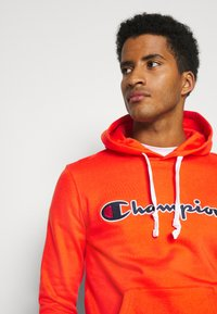 Champion - HOODED - Mikina skapucí - red - 3