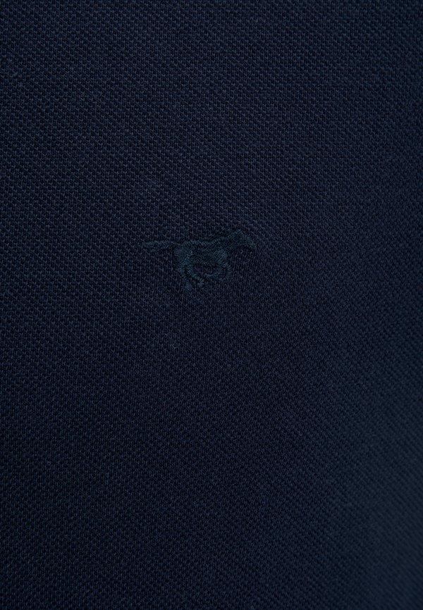 Mustang Koszulka polo - blue/granatowy Odzież Męska KYBT