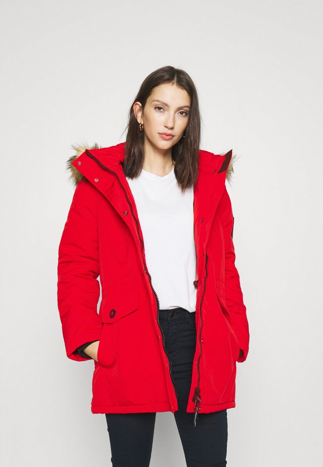 EVEREST - Parka - high risk red