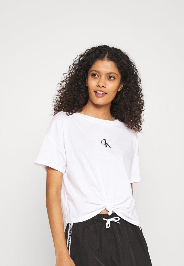 CROPPED - Pyžamový top - classic white