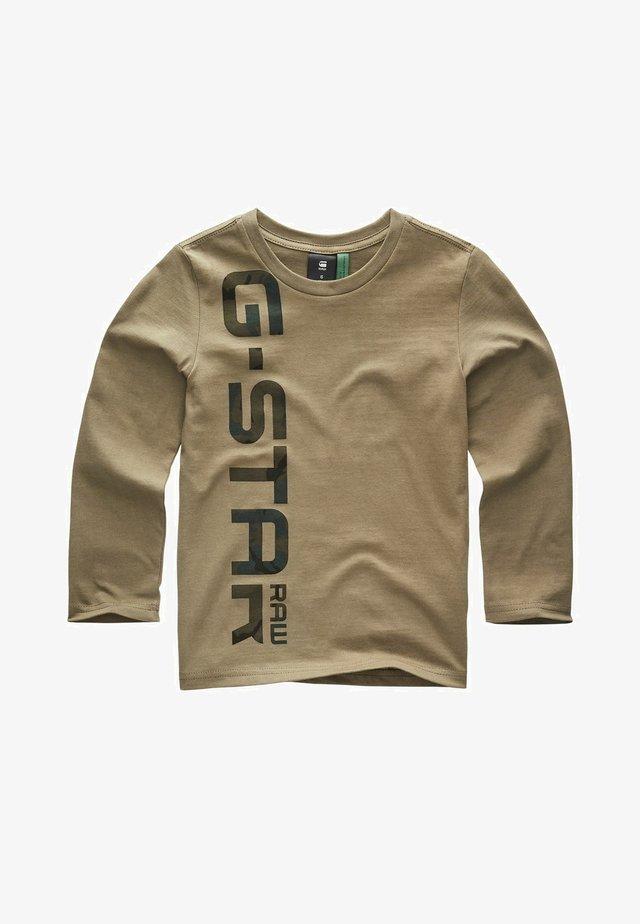 IMPRIMé ML - T-shirt à manches longues - kaki green