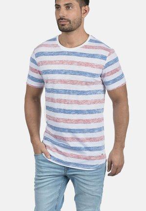 RUNDHALSSHIRT TET - Print T-shirt - blue