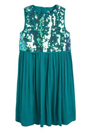 SEQUIN DRESS (3-16YRS) - Koktejlové šaty/ šaty na párty - green