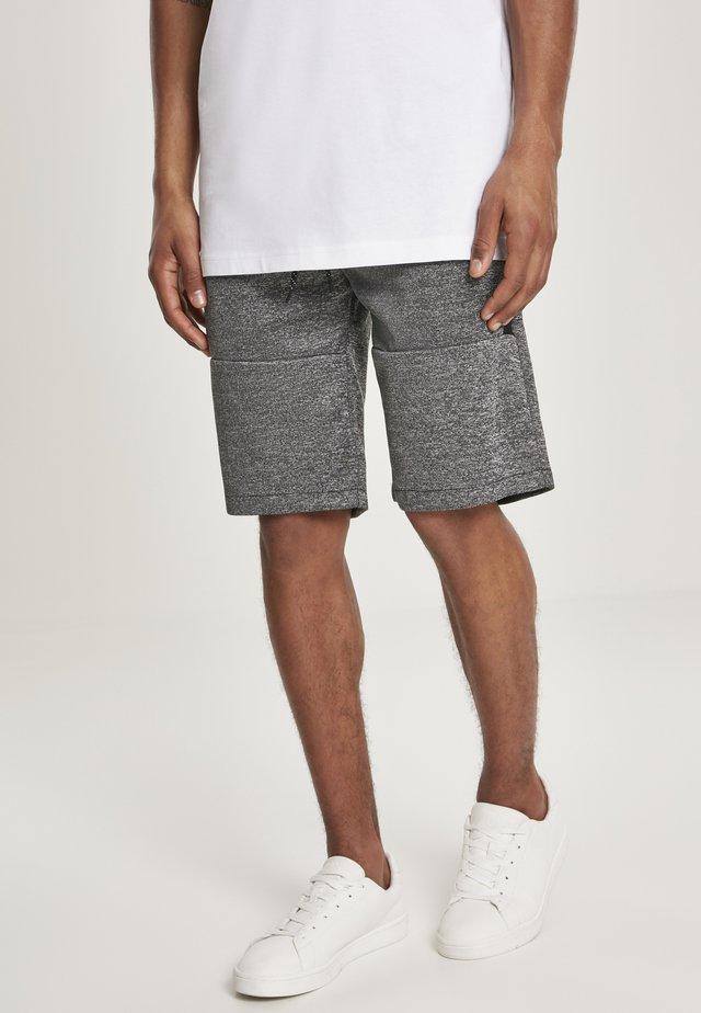 Shorts - marled black