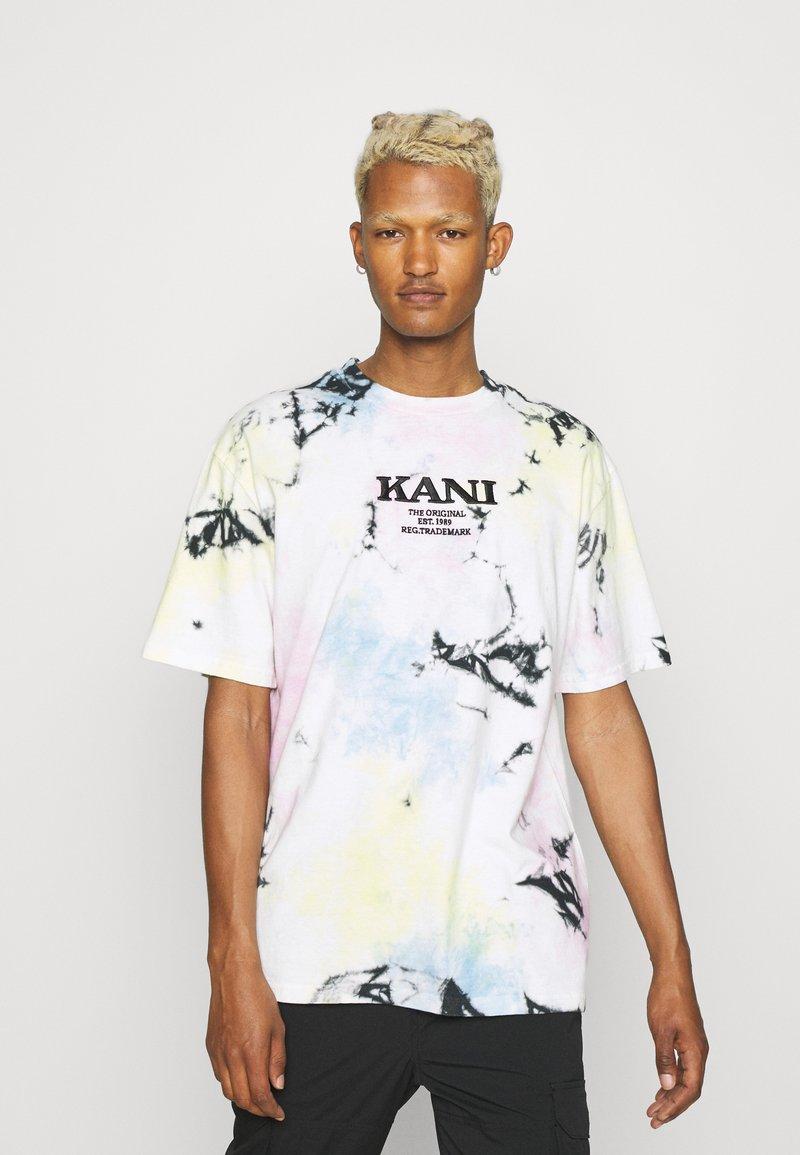 Karl Kani - RETRO TIE DYE TEE UNISEX - Triko spotiskem - multicolor