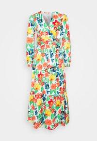 Glamorous - LONG SLEEVE WRAP MIDI DRESS - Maxi dress - large bright - 4