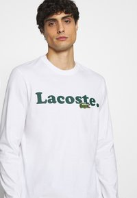 Lacoste - Long sleeved top - white - 3