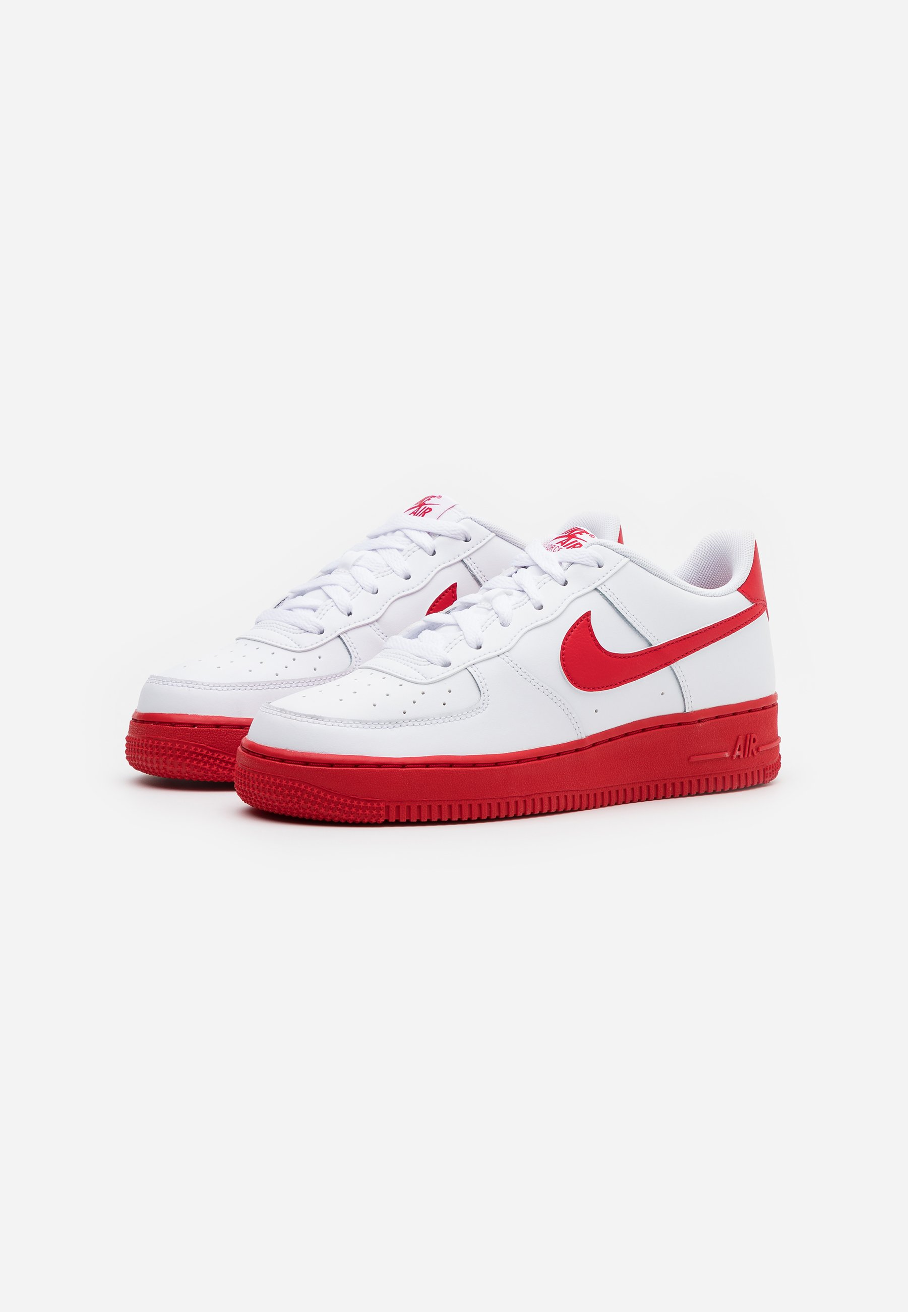 AIR FORCE 1 BRICK - Sneakers basse - white/university red/white